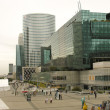 :PARIS - OCT 10: Panorama of La Defense on October 10, 2009 in Paris, France. - Stock Photo