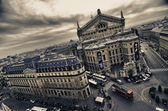 Paris Colors in Winter — Stock Photo