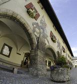 Dettaglio di architettura a berchtesgaden, germania — Foto Stock