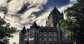 Architecture and Colors of Quebec City — Stock Photo