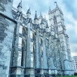 Royalty-Free Stock Photo: The Westminster Abbey church in London, UK - Side view