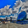 Modern Architecture of London — Stock Photo
