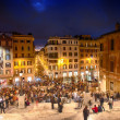 Stock Photo: ROME - NOV 3: climb spanish steps of Piazzdi Spagna