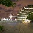 LONDON, SEP 28: London City Hall, headquarter of London Authority - Stock Photo