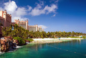 Atlantis Hotel on Paradise Island in Nassau,Bahamas. — Stock Photo
