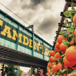 Famous Camden Market in London — Stock Photo