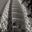 Architectural detail of Tokyo, Black and White view — Foto Stock