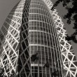 Architectural detail of Tokyo, Black and White view — Foto de Stock