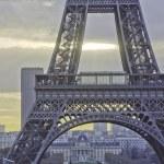 Paris in Winter — Stock Photo