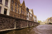 Colors of Bruges during Spring — Stock Photo