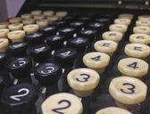 Antigua máquina de la computadora — Foto de Stock