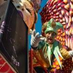 VIAREGGIO, ITALY - FEB 10: The parade of carnival floats, Februa — Stock Photo #21234009