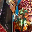 Foto de Stock  : VIAREGGIO, ITALY - FEB 10: parade of carnival floats, Februa