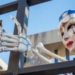 VIAREGGIO, ITALY - FEB 10: The parade of carnival floats, Februa — Stock Photo #21235951