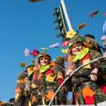 VIAREGGIO, ITALY - FEB 10: The parade of carnival floats, Februa — Stock Photo #21242595