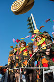 VIAREGGIO, ITALY - FEB 10: The parade of carnival floats, Februa — Foto de Stock