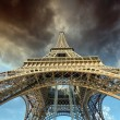 Beautiful view of Eiffel Tower in Paris — Zdjęcie stockowe