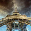 Stock Photo: Beautiful view of Eiffel Tower in Paris