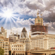 Modern Buildings and Architecture of London in Autumn — Stock Photo