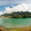Lake of Auronzo, Italy — Stock Photo #21332643