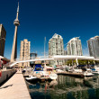 View of Toronto from the Pier — Stock Photo #21336131