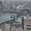 Wonderful view of Sydney Harbour Bridge - Australia — Stock Photo #21339053
