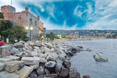 Landscape of Santa Margherita Ligure — Stock Photo
