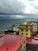 Naples, Italy. Typical view of Colorful Homes — Stock Photo