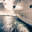 View from a Cruise Ship - Stock Photo
