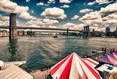 Particolare architettura della città di new york, u.s.a. — Foto Stock