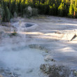 Stock Photo: Yellowstone Geyser