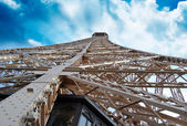 Structure of Eiffel Tower — Stockfoto