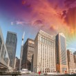 Awesome view of Tall Skyscrapers — Stock Photo