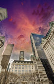 Manhattan, New York City. Wonderful view of Tall Skyscrapers fro — Стоковое фото