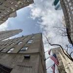 NEW YORK CITY - MAR 2: Giant skyscrapers dominate city streets, — Stock Photo #22673977