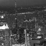 Night View of New York City — Stock Photo #23083308