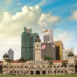 Merdeka Square, Kuala Lumpur. View of city skyline - Stock Photo