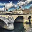 Stock Photo: Napoleon Bridge in Paris