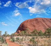 Wonderful Outback colors in Australian Desert — Stockfoto