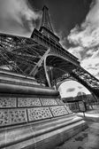 Magnificence of Eiffel Tower — Stock Photo