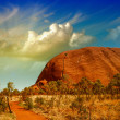 Stock Photo: Wonderful Outback colors in AustraliDesert