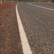 Storm over a Road across Australian Outback — Stock Photo