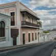 Typical streets of San Juan in Puerto Rico — Stock Photo
