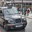 LONDON - SEP 29 : TX1, London Taxi, also called hackney carriage — Stock Photo #24280679
