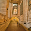 NEW YORK CITY - MAR 1: Interior view of New York Public Library — Stock Photo