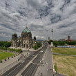Berliner Dom. Beautiful view of Berlin Cathedral on a summer day — Stock Photo #24284041