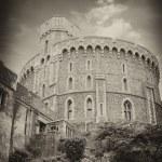 Windsor Castle, favorite residence of Queen Elizabeth II — Stock Photo