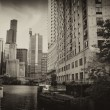 Chicago Buildings and Skyscrapers, Illinois — Stock Photo #24284999