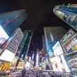 NEW YORK CITY - MAR 15: Times Square, featured with Broadway The - Stock Photo