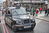 LONDON - SEP 29 : TX1, London Taxi, also called hackney carriage — Stock Photo
